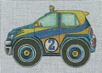 blueandyellowcar