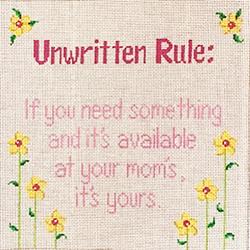 42233 WDS Unwritten rule