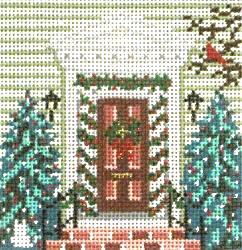 1776 Winter Door Orn. – 250–+