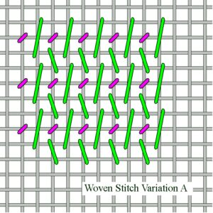 Woven Stitch Variation A