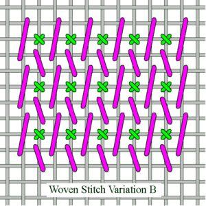 Woven Stitch Variation B