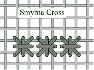 Smyrna Cross