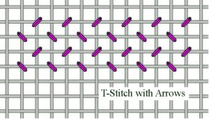 T-Stitch with Arrows