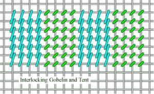Interlocking Gobelin & Tent