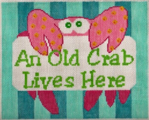 S18 Old Crab Needlepoint