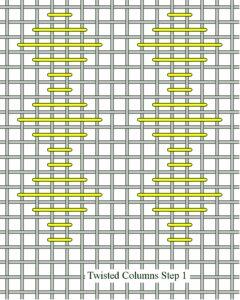 Twisted Columns Step 1