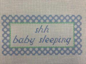 Blue Sleeping