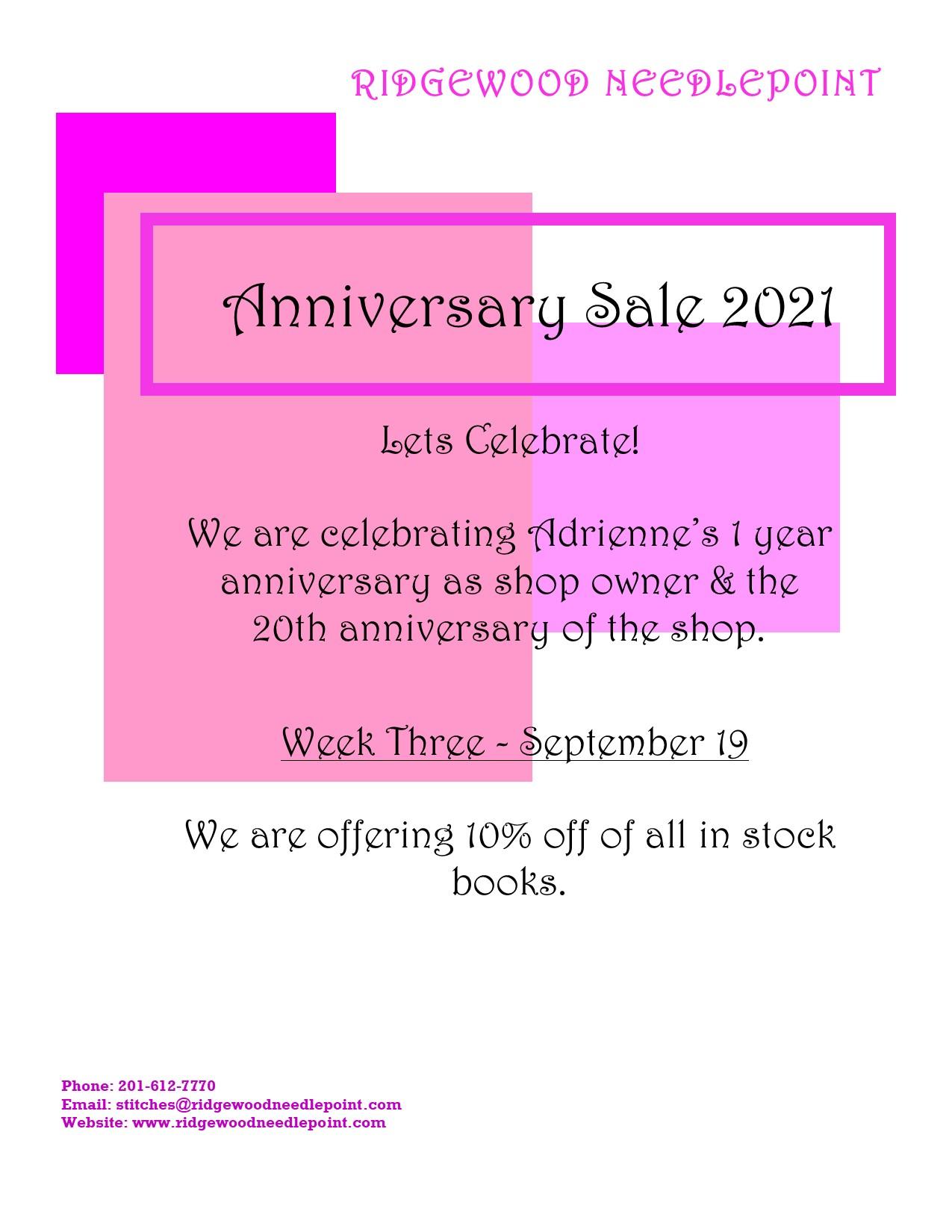 Anniversary 9-19-21