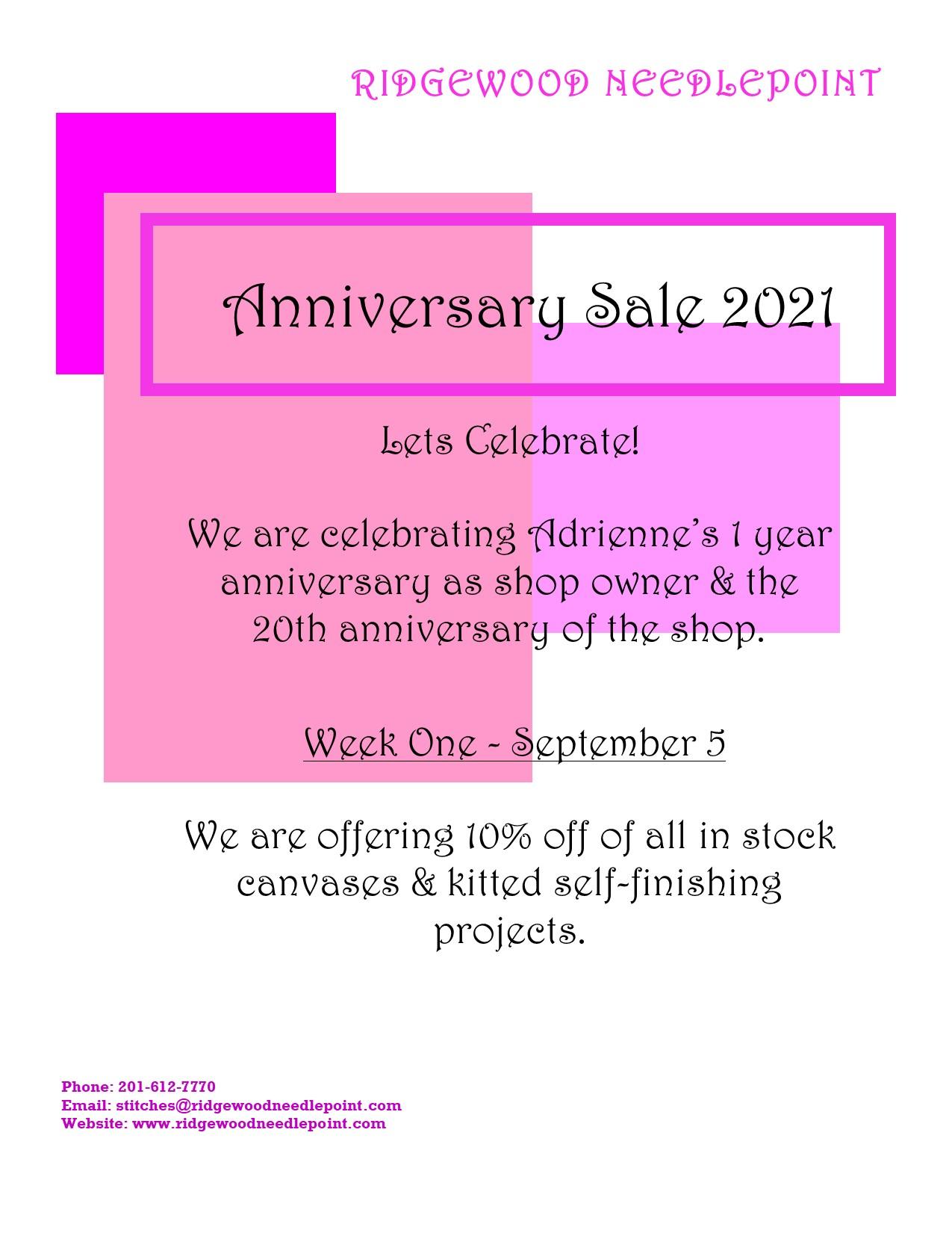 Anniversary 9-5-21