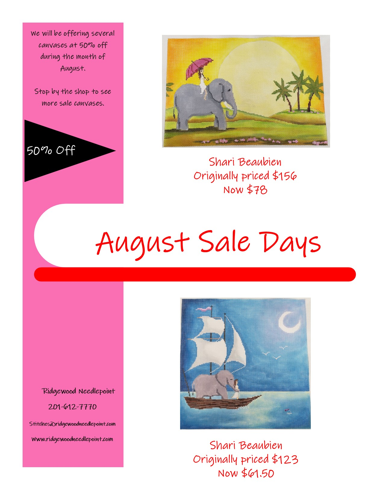 Sale Day 8-25-21