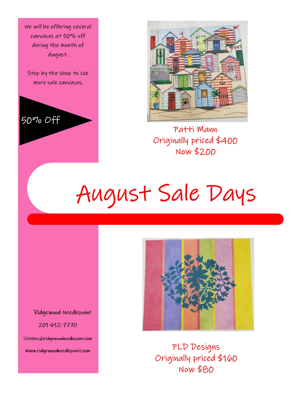 Sale Day 8-26-21